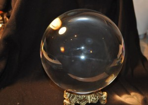 anyone's crystal ball working? this one's busted