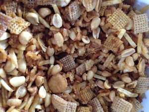 Southern Style Crockpot Chex Mix