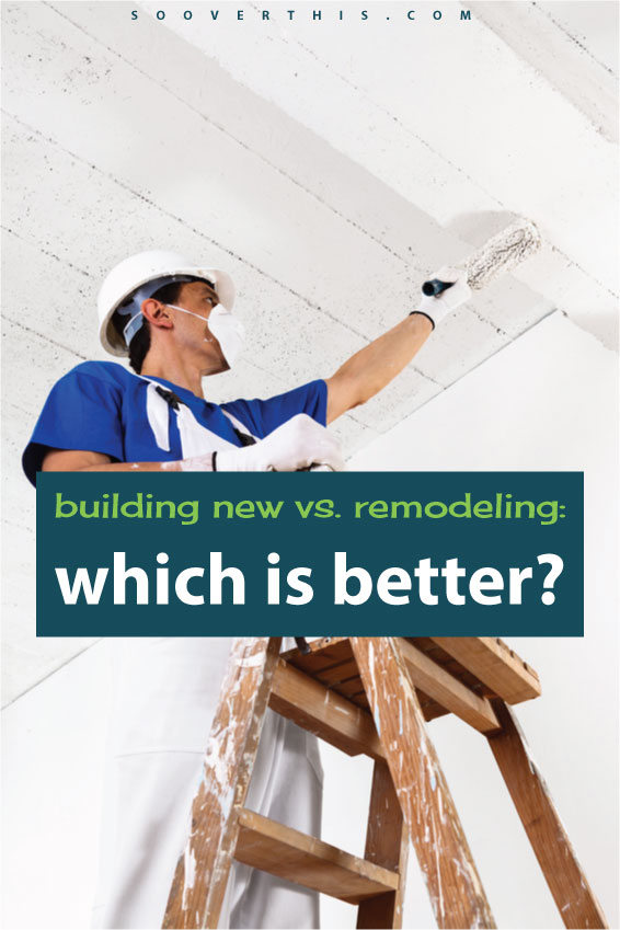 If you had to choose between building a new home or remodeling an existing one, what would you pick? Keep in mind the financial AND practical considerations that come along with both. This is a good analysis of building new vs remodeling and picking which is better for you and your own situation.