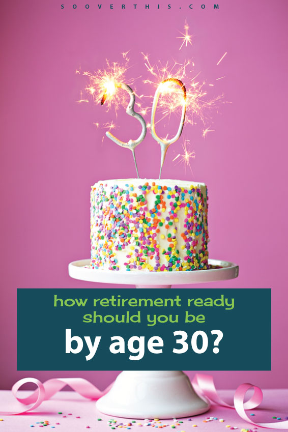 Are you retirement ready? This is a really good question, but more specifically, how retirement ready should you be at age 30? I am wondering how I stack up against other people and if I am saving enough. The sooner I can get my student loans paid off and start, the better.