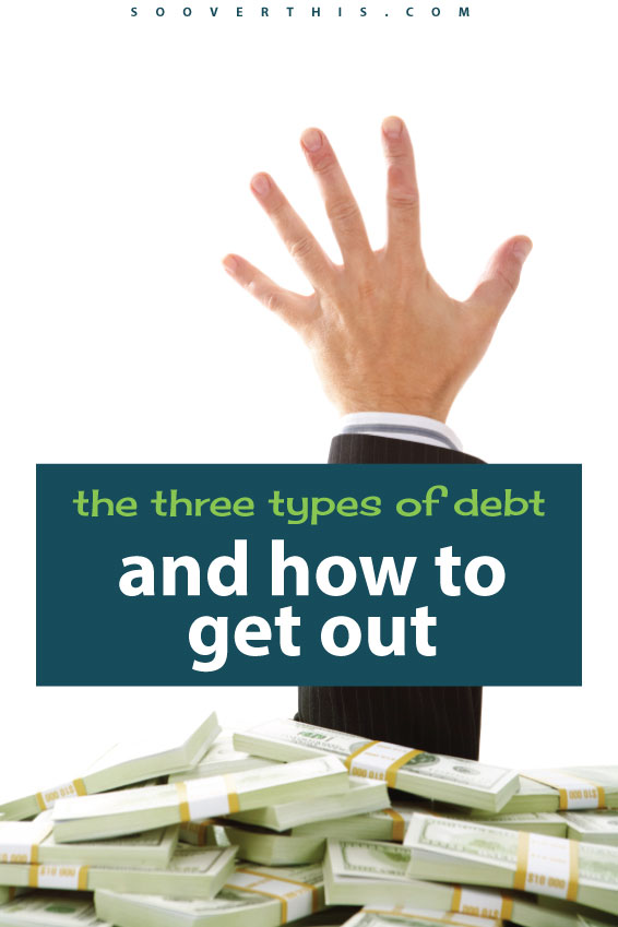 Not all debt is created equal. These are 3 very different types of debt, plus how we manage to get into them all and what I need to do to get out of them! My mission is to get out of debt and I'm working hard to save money and create a workable budget, but that won't get rid of my triggers. I still need help figuring those out.