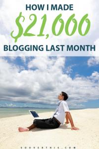 September 2016: Blog Net Income Report