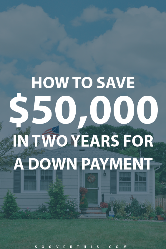 Are you saving to buy your first house? Me too! Figuring out how to save a downpayment has been a bit of a challenge, given that we still have to pay rent. This article helped us rework our budget to save up; we're also aiming to save $50k in two years for our downpayment, it will give us lots of options where we live to go shopping as first time home buyers!
