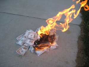 Got money to burn?