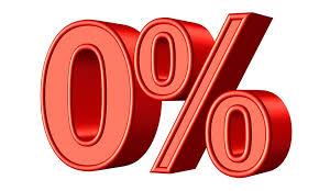 zero percent interest