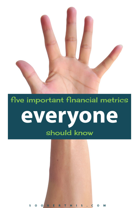 do you know these 5 important financial metrics you should to keep your personal