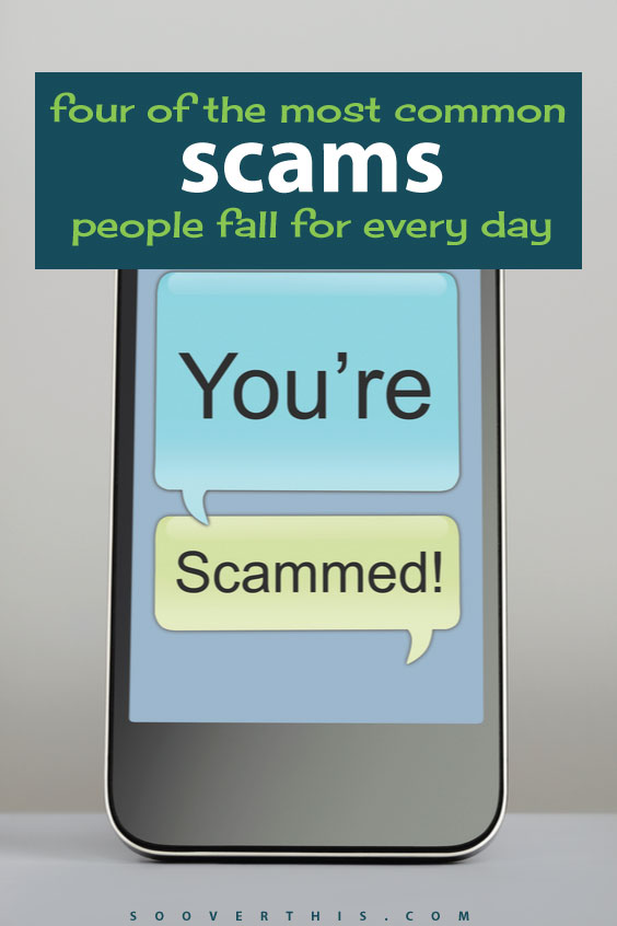It's so easy to fall for scams these days, thanks to craigslist and mail and email and phones. Have you ever come close to falling for one of these ones? This is a list of 4 of the most common scams people fall for everyday, and still continue to fall for. Don't be a victim, read up on these schemes and scams so that you and your money stay safe.