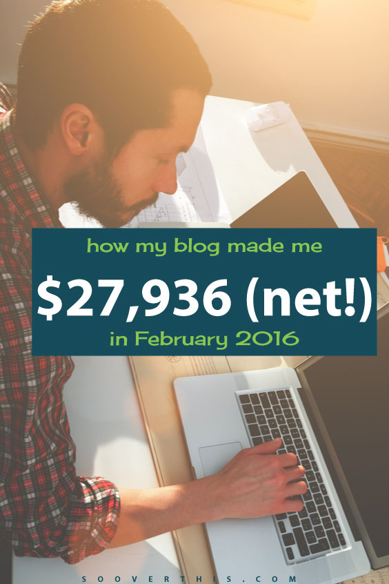 I'm dreaming about earning $27,936 in a whole year from working at home, let alone in a single month. Blogging is a great way to earn extra money, if you're willing to put in the time at the beginning. This blog income report shows a crazy high amount of earnings and he does this month in, month out. Have you considered starting a blog? I'm so glad that I did.