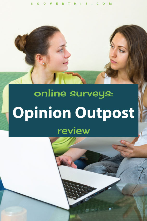 This is a super easy way to make a bit of extra money. Doing surveys online has added up to quit the bit of money for me on the side, which really helps with my budget. I like to do them while watching TV, so it's not too hard. This is a review of Opinion Outpost which is a good survey company.