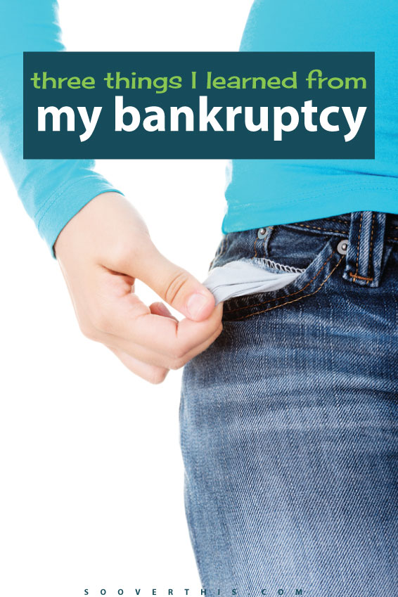 This lady shares the lessons that she learned from filing Chapter 7 bankruptcy. It's a tough decision to make, but if you're not careful you can end up right back in debt. Learn from her and don't dig yourself a big debt hole again right away. Stay on budget!