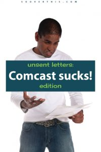 UGH, Comcast. If you have any choice at all about who you get your internet and cable from, read this Comcast review as a warning. Internet service is one of the biggest recurring bills that we get at home, so I want to make sure that I'm getting the best value for my dollars, and customer service that actually works!