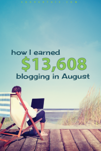 August 2016: Blog Net Income Report