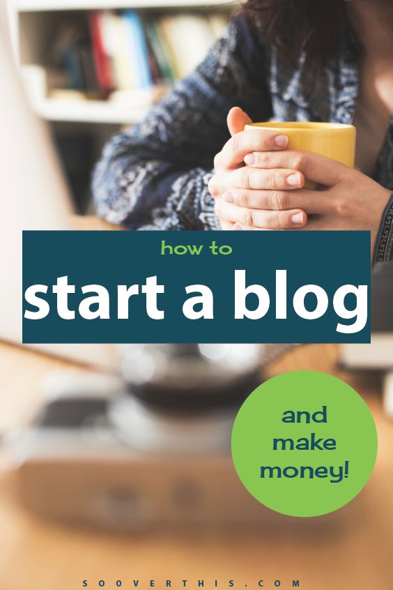 I've always wanted to start a blog but thought it would be difficult. This list of step by step instructions makes it really easy. I see a lot of people earning money from home by working online and want to try my hand at it at as well. Click here to see the easy steps - https://www.sooverthis.com/how-to-start-a-blog/