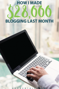 It is incredible how blogging makes it possible to earn a full time living while still holding down a full time job! People sharing their online income reports are motivating - I'm planning to start a blog soon and try my hand at making money from writing.