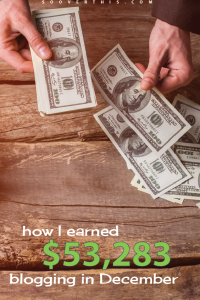Wow, what an impressive month of online earnings! This is how to make a blog work for you!